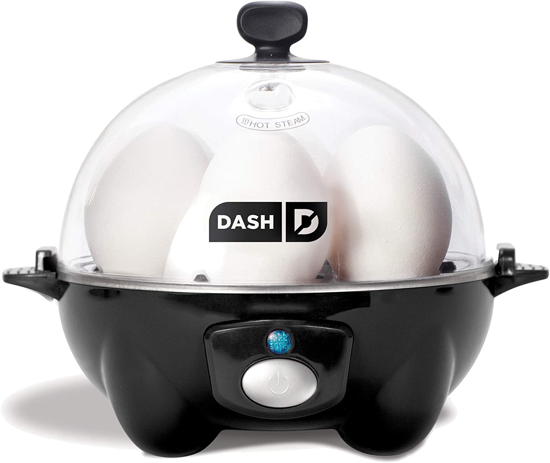 6 Egg Capacity Electric Egg Cooker OPEN BOX Black Dash Rapid Egg Cooker