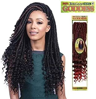 Bomba Faux Locs Soul Curly Tips 20