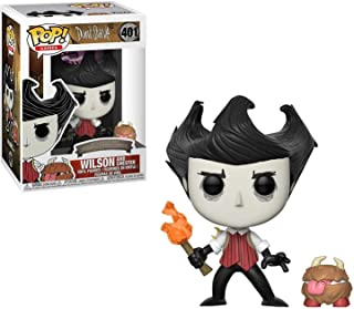 Funko Pop & Buddy Games: Don't Starve - Wilson with Chester Collectible Figure, Multicolor