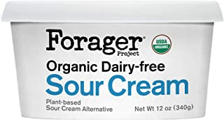 Forager Project, Organic Dairy-Free Sour Cream Alternative, 12 Ounce