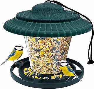 Bncxdc mangeoire Oiseaux imperméable, mangeoire à Oiseaux Maison Suspendue, Petites Stations dalimentation pour Oiseaux po...