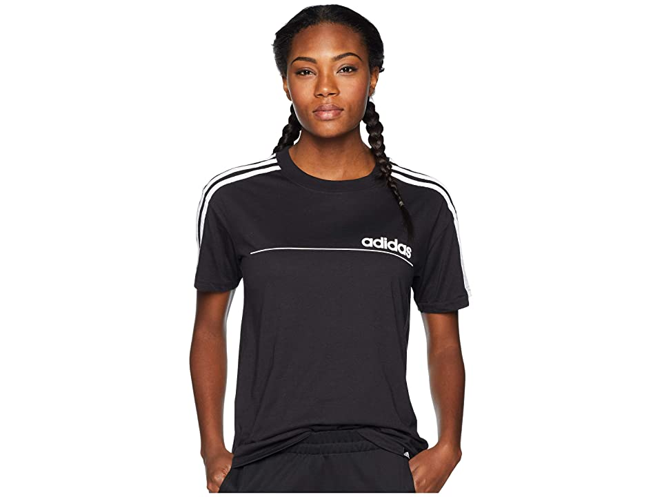adidas Oversized Line Tee (Black) Women