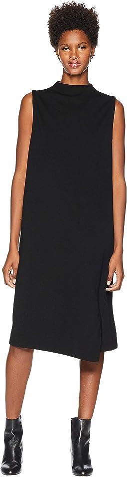 40e39d7268b Tencel Ponte Mock Neck Wrap Dress. Like 23. Eileen Fisher