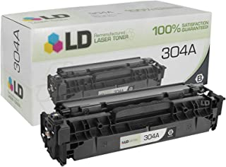 LD Compatible Toner Cartridge Replacement for HP 304A CC530A (Black)