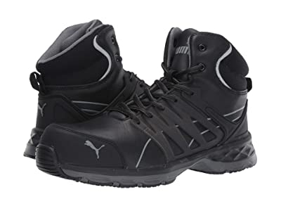 PUMA Safety Velocity Mid 2.0 (Black) Men