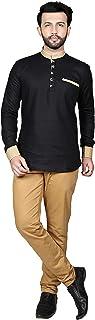 Tathastu Mens Cotton Kurta Tunic Shirt