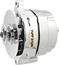 Tuff Stuff 7068RD Chrome 1-Wire 1-Groove Pulley Alternator for Ford