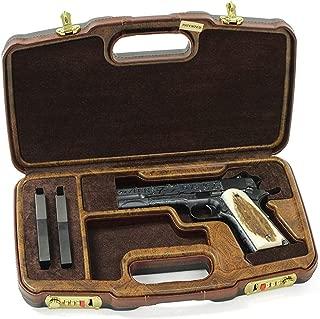 Negrini Model 1911 Custom Shop Wood Handgun Case - 2018SLX/WOOD