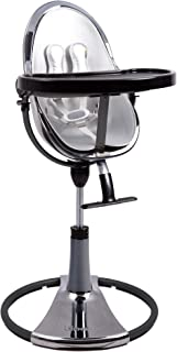 Bloom Fresco Contemporary Baby Highchair from 0-8 Years Frame Only (Titanium New Edition)