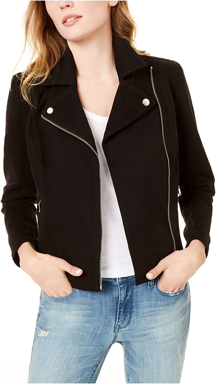 Maison Jules Moto Jacket Deep Black XL