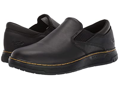 Dr. Martens Work Brockley Slip Resistant (Black/Black/Black) Men