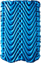 Klymit Double V Two-Person Inflatable Sleeping Mat/Pad for Camping, Hiking, and Backpacking