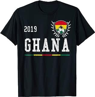 Ghana Football Jersey 2019 Ghanian Soccer T-shirt