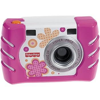 フィッシャープライス キッズ・タフ・デジタルカメラ スリム (ピンク) (W1460)