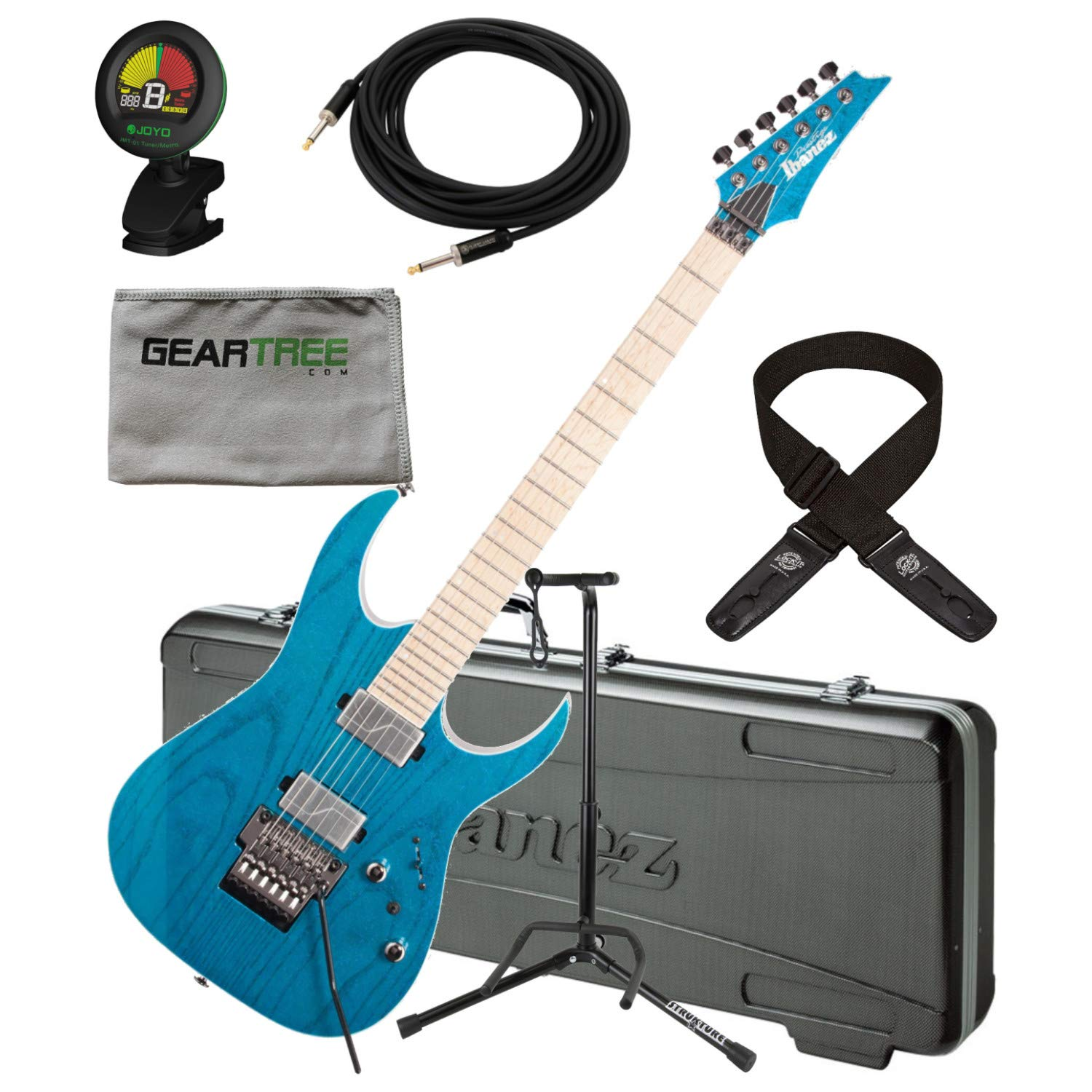 Cheap Ibanez RG5120MFCN RG Prestige Electric Guitar w/Case Tuner Cloth Dlx Cable Black Friday & Cyber Monday 2019
