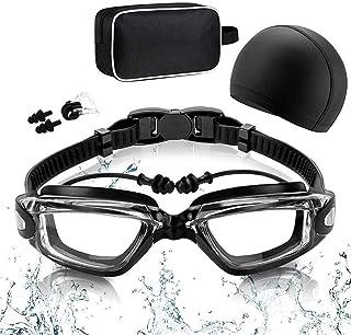 RabbitStorm Kit de Natación 5 en 1, Equipo de Natación que Incluye Gafas de Natación con Auriculares Integrados, Gorro de ...