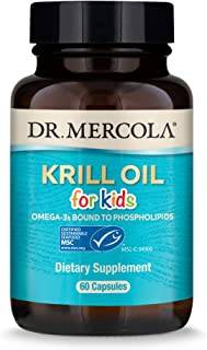 Dr. Mercola, Krill Oil for Kids, 30 Servings (60 Capsules)