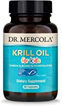 Dr. Mercola, Krill Oil for Kids, 30 Servings (60 Capsules), Source of Omega 3 Fatty Acids, MSC Certified, non GMO, Soy Fre...