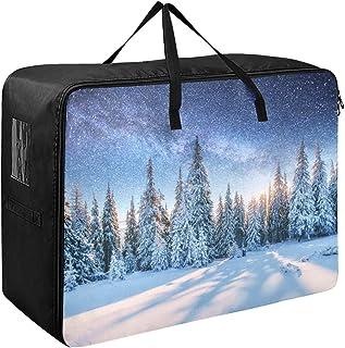 Grands sacs de rangement en tissu Dairy Star Trek Iover Pine Forest Vêtements Organisateur 70 X 50 X 28 Cm Couette Couvre-...