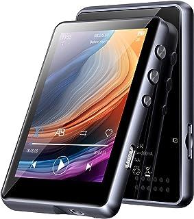 32 GB MP3-speler met Bluetooth 5.0, HiFi Lossless Sound MP3-muziekspeler, Ingebouwde luidspreker, met Line-in Voice Record...