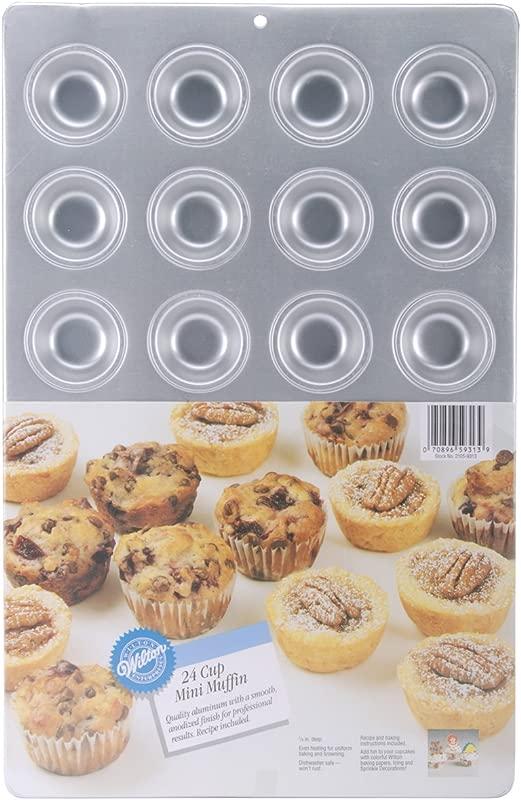 Wilton Aluminum 24 Cup Mini Muffin Pan