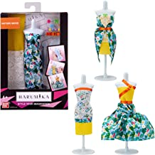 Harumika Fashion Design for Kids- Craft Your Own Catwalk Looks with This Creative Kit - Single Torso Set - 'Nature Mood' S...