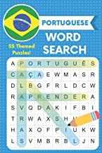 Portuguese Word Search: 55 Themed Puzzles!