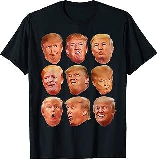 Trump Faces T-Shirt