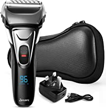 Sponsored Ad – Men's Electric Shaver with LED Display, Electric Razor with pop up Back Trimmer, Men's Cordless Shaver with...