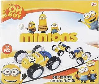 اوه بوي مجموعة سيارات مينيونز 12 قطعة للاطفال - MJM78