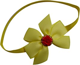 Beauty and the Beast Belle Costume Headband for Baby Girl