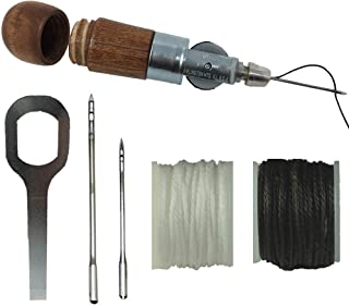 Repair Stitch Tool Sewing Awl for Bounce Houses, Inflatables, Tarps, Leather, Thick Fabric, Shoes, Bags, Belt, Upholstery ...