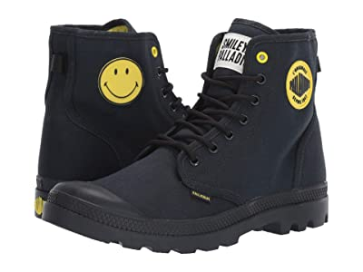 Palladium Pampa Smiley Festbag (Anthracite) Lace up casual Shoes