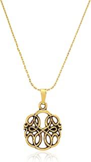 Alex and Ani Women's Passth of Life IV Necklace, Rafaelian Gold