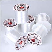 20-100m Transparant 0.2-0.6mm Niet-elastisch visserijtouw String Lijn Koord Kralen Kralen DIY for Sieraden Maken Armband &...