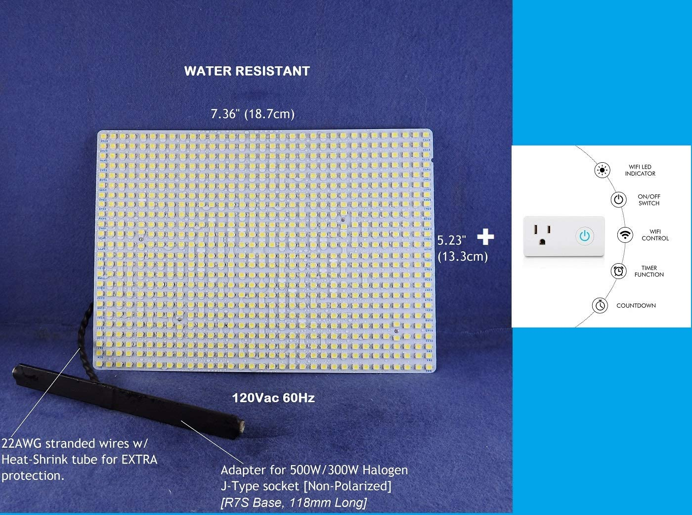 Water Resistant 100% quality warranty LED Panel for Flood 120Vac Ranking TOP16 FIXTURES 7000 Light -