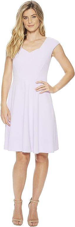 Calvin Klein - Cap Sleeve A-Line Dress CD8C15JL