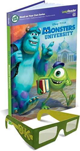 [UK-Import]LeapFrog LeapReader 3D Book  Disney-Pixar Monsters University