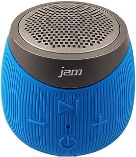 Jam Audio Double Down Portable Bluetooth Wireless Speaker Aux In Blue