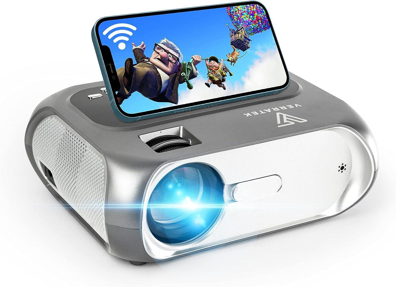 WiFi Recommended Mini Projector Full HD 1080P Supported LumaVision Super sale period limited Verratek