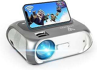 WiFi Mini Projector Full HD 1080P Supported, Verratek LumaVision Video Projector, Portable Outdoor Projector, 5000 Lumens,...