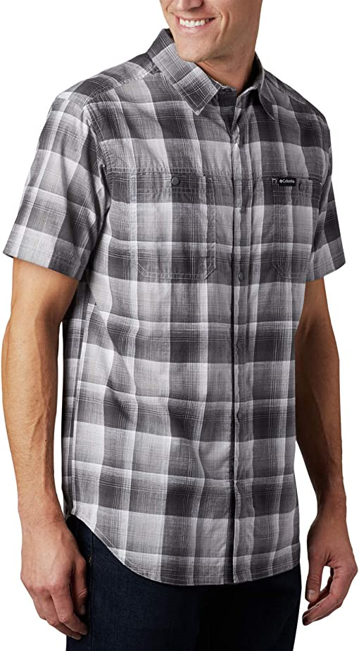 Columbia Grey Ombre Plaid