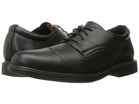 SKECHERS Work Gretna - Gering Black Leather Men