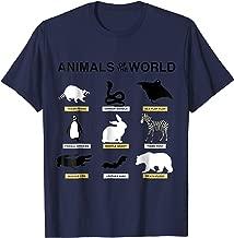 Best animal world tee Reviews