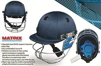 SS SS500001JR Matrix Cricket Helmet, Navy