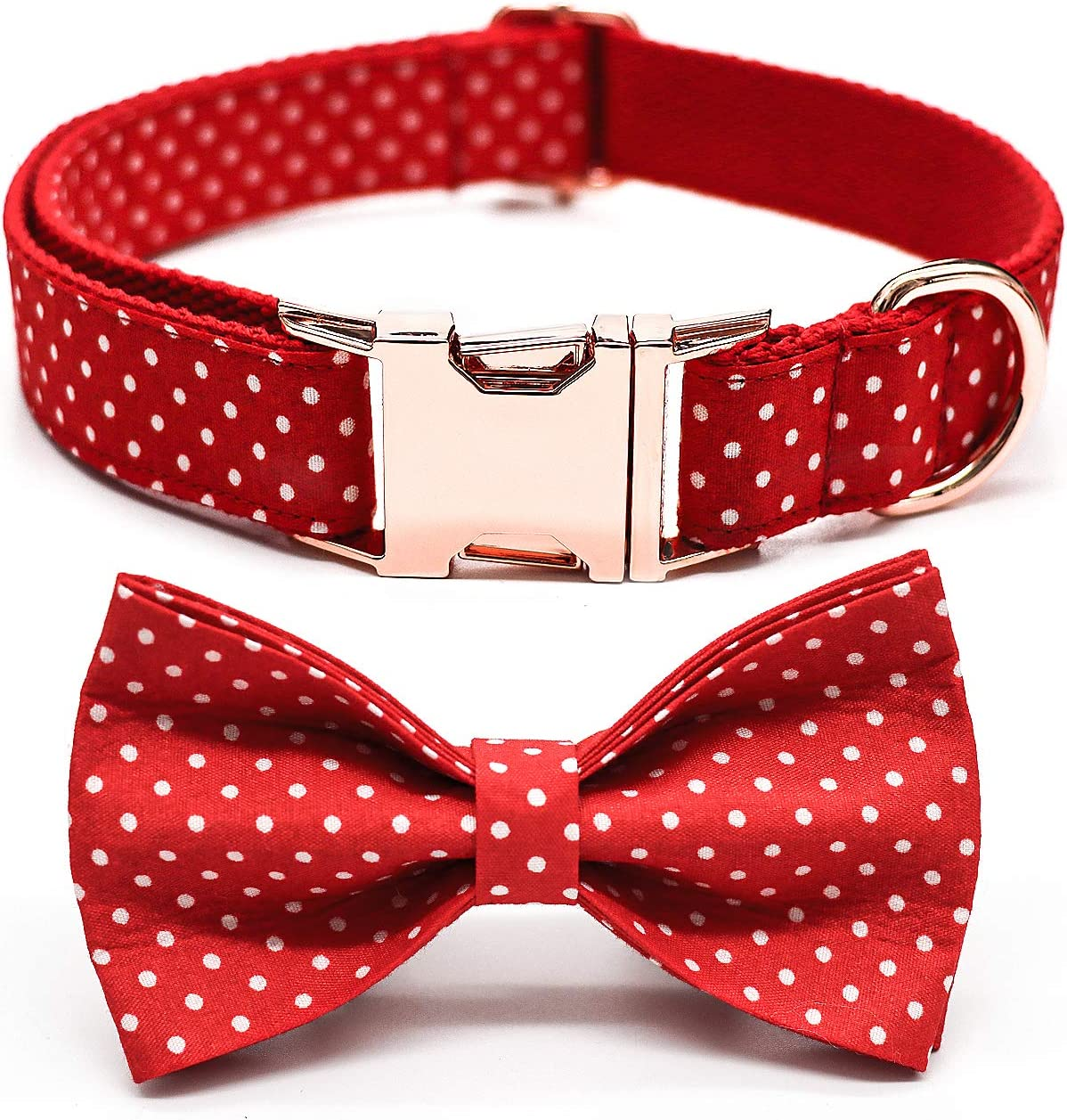Dog Bowtie Collars Personalized Buckle Day Metal High order Al sold out. Valentine's