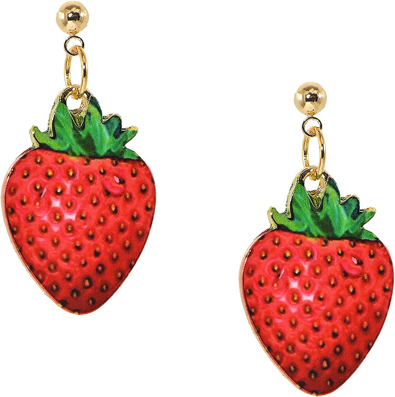 ChelseachicNYC Whimsical Fruit and Food Jewelry