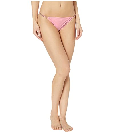 Jonathan Simkhai Chain Print Bikini Bottoms (Cherry Blossom) Women