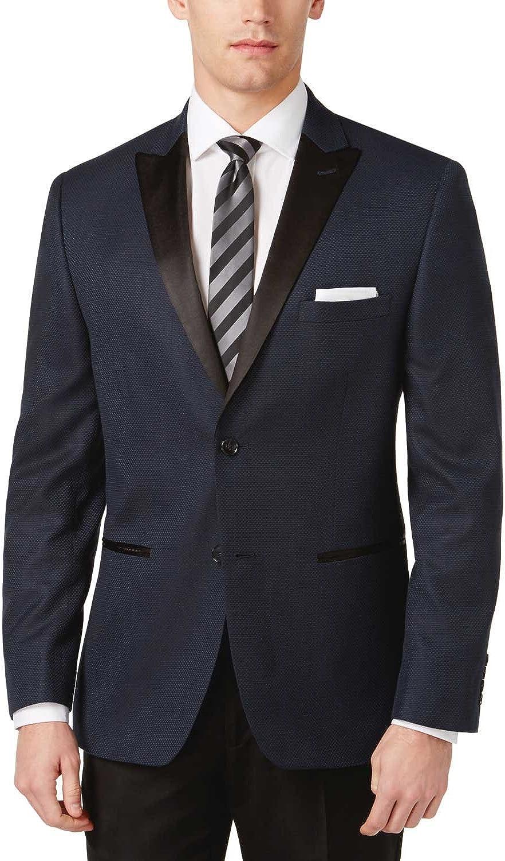 Alfani Men's Satin Lapel Coat Slim-Fit trend Our shop most popular rank Sport