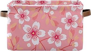 xigua 1 panier de rangement pliable en toile avec poignées pour jouets, linge, étagère, salle de bain, boîte de rangement,...
